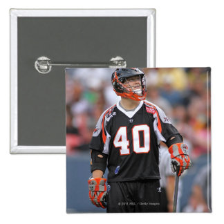 DENVER, CO - JUNE 11: Andrew Hennessey #40 3 2 Inch Square Button
