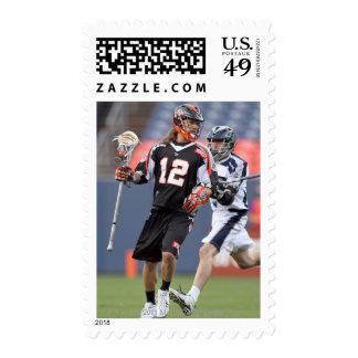 DENVER, CO - JUNE 11: Jarett Park #12 2 Stamps