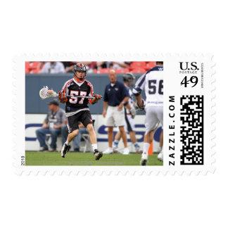 DENVER, CO - JUNE 11: Peet Poillon #57 2 Stamps