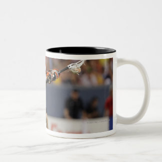 DENVER, CO - JUNE 25:  Bill McGlone #33 2 Two-Tone Coffee Mug