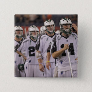 DENVER, CO - JUNE 25:  Goalkeeper Drew Adams #14 Pinback Button