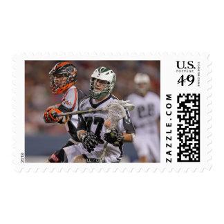 DENVER, CO - JUNE 25:  Mike Unterstein #77 Postage Stamp