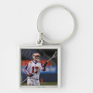DENVER, CO - MAY 14:  Brodie Merrill #17 Silver-Colored Square Keychain