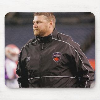 DENVER, CO - MAY 14:  Head coach Regy Thorpe Mouse Pad