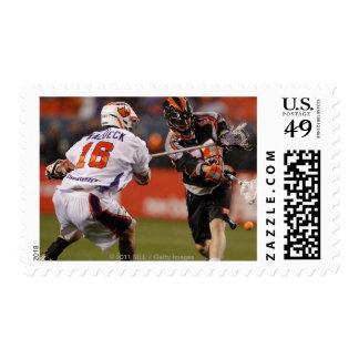 DENVER, CO - MAY 14:  Peet Poillon #57 Denver 2 Postage Stamps