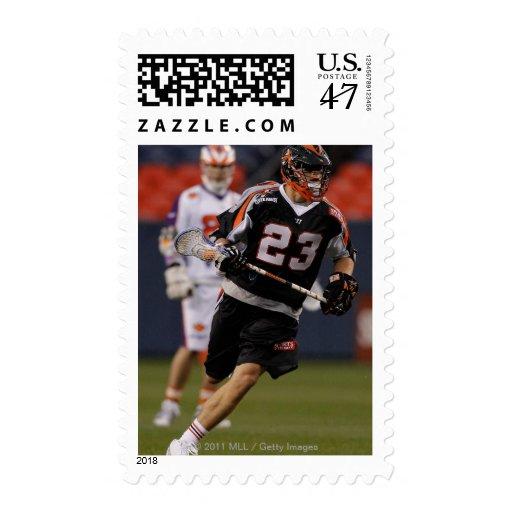 DENVER, CO - MAY 14:  Sean DeLaney #23 Denver 2 Stamp