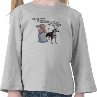 Denver CO odia los perros lisiados y de Pitbull Camiseta