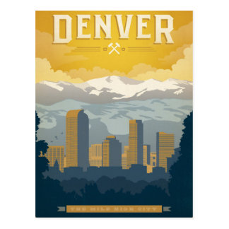 Denver, CO Postcard