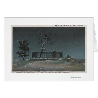 Denver, CO - View of Buffalo Bill's Grave Card