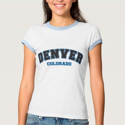 Denver colegial t shirts
