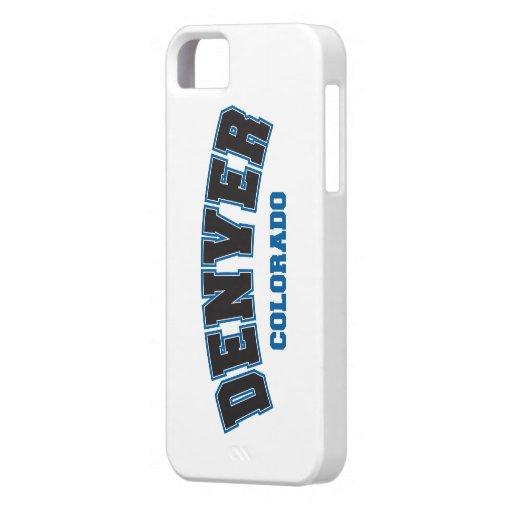 Denver Collegiate iPhone 5 Cases