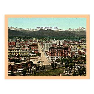 Denver, Colorado - 1910 Postal
