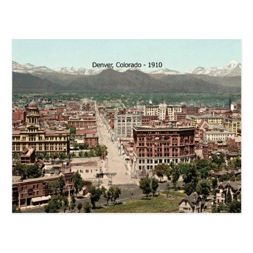 Denver, Colorado - 1910 Tarjetas Postales