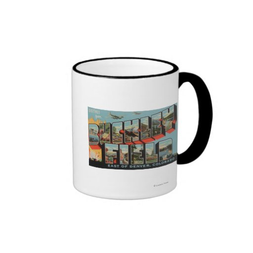 Denver, Colorado - Buckley Field Ringer Coffee Mug