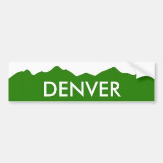 Denver Colorado Bumper Sticker