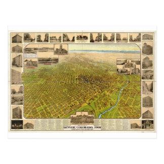 Denver Colorado en 1908 Postal