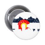 Denver Colorado Flag 2 Inch Round Button
