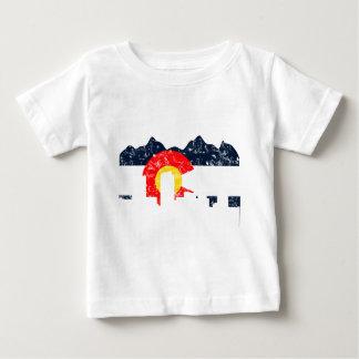 Denver Colorado Flag Baby T-Shirt