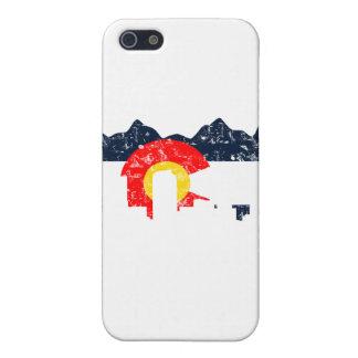 Denver Colorado Flag Case For iPhone SE/5/5s