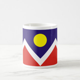 Denver, Colorado Flag Coffee Mug