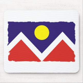 Denver Colorado Flag Mouse Pad