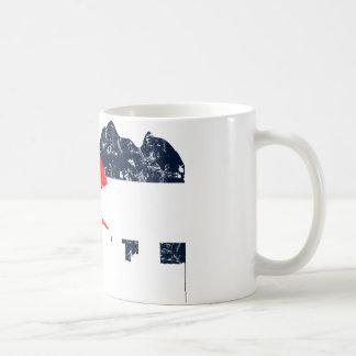 Denver Colorado Flag Classic White Coffee Mug
