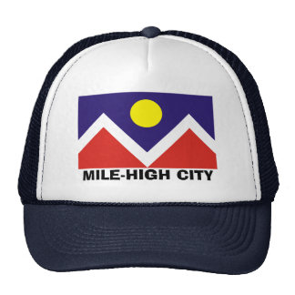 Denver, Colorado Flag Trucker Hat