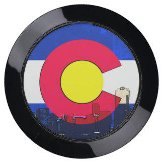 Denver Colorado flag USB charging port hub