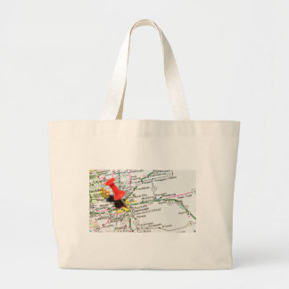 Denver, Colorado Large Tote Bag