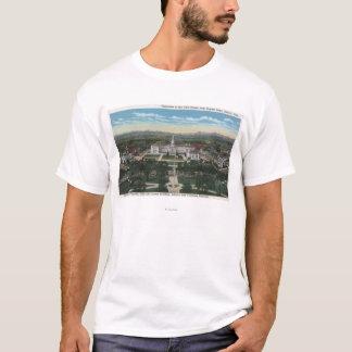 Denver, Colorado - Panorama of Civic T-Shirt