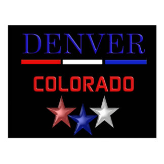 Denver Colorado - postcard