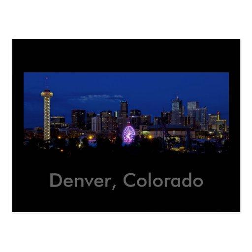 Denver, Colorado Postcards