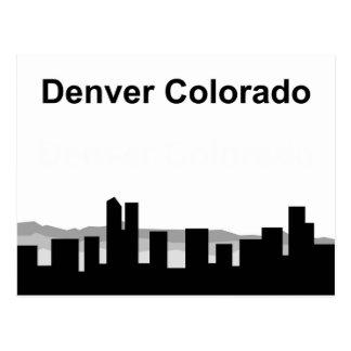 Denver Colorado Post Card