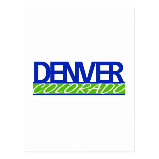 Denver Colorado Postcards