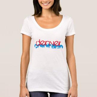 Denver Colorado Red White Blue T-Shirt