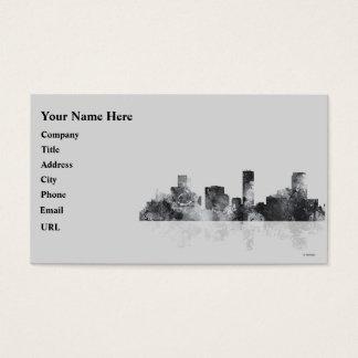 DENVER, COLORADO SKYLINE BUSINESS CARD