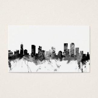 Denver Colorado Skyline Business Card