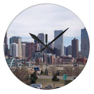 Denver, Colorado Skyline Clock
