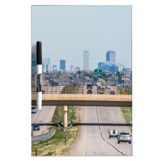 Denver Colorado skyline Dry-Erase Board