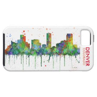 DENVER, COLORADO SKYLINE iPhone SE/5/5s CASE