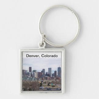 Denver, Colorado Skyline Keychain
