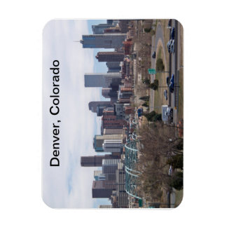 Denver, Colorado Skyline Magnet