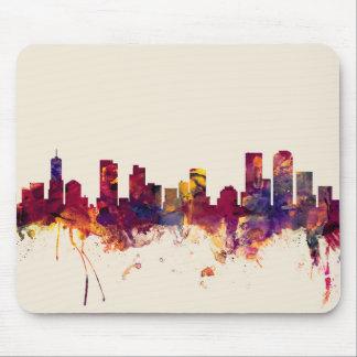 Denver Colorado Skyline Mouse Pad