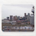 Denver, Colorado Skyline Mousepad