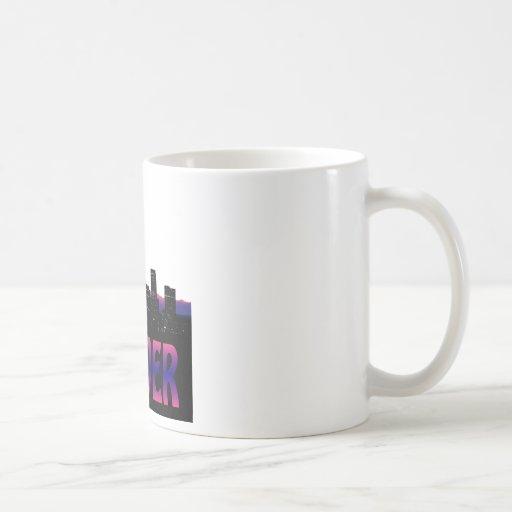 Denver Colorado Skyline Mug