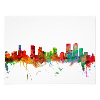 Denver Colorado Skyline Photo Print