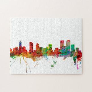 Denver Colorado Skyline Puzzle