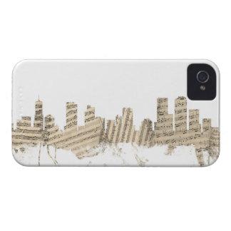 Denver Colorado Skyline Sheet Music Cityscape Case-Mate iPhone 4 Case