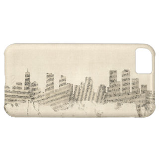 Denver Colorado Skyline Sheet Music Cityscape iPhone 5C Cover