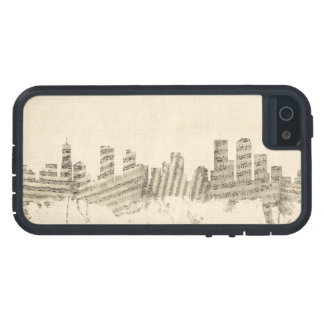 Denver Colorado Skyline Sheet Music Cityscape iPhone SE/5/5s Case